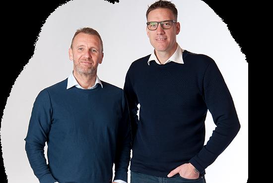 Allan Sejerup Kristiansen og Allan Hundrup fra Seacabin A/S